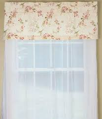 Shabby Chic Valance by Sanctuary Floral Valances Floral Window Toppers Floral Valance