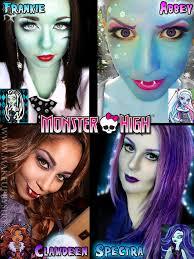 Monster High Frankie Stein Halloween Costume by Bows And Curtseys Monster High Collaboration Spectra Vondergeist