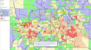 Dallas Suburbs Map by National Children U0026 Education Statistics