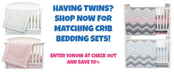 Twin Crib Bedding by Stuff 4 Multiples The 1 Twin Store In The Us