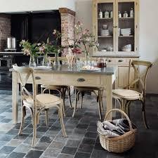 cuisine rustique chic table de cuisine rustique chic cuisine idées de décoration de
