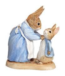 beatrix potter mrs rabbit and figurine co uk