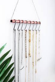 make necklace holder images Diy necklace holder nn woodman jpg