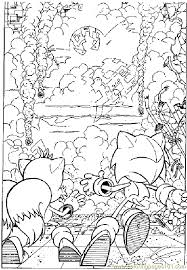 hedgehog coloring pages sonic the hedgehog coloring page 10 coloring page free sonic x