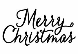 amazon com hero arts rubber stamps merry christmas script