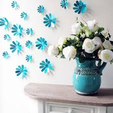 Wall Flower Decor by Compare Prices On 3d Wall Flowers Online Shopping Buy Low Price