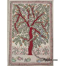 theme tree tree life theme madhubani painting buy online at artnher com