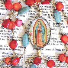 our of guadalupe rosary our of guadalupe rosary new catholic etsy artists guild