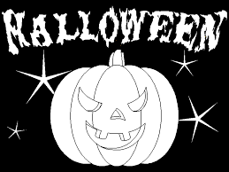 Halloween Coloring Books Scary Halloween Pictures Color Coloring Pages