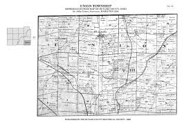County Maps Of Ohio by 1855 Map Of Butler County Butler County Historical Society