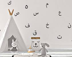 Alphabet Wall Decals Etsy - Alphabet wall decals for kids rooms