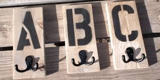 Barn Wood Letters Letter Hooks Spell Out Sea Beach Coast Or Whatever Strikes