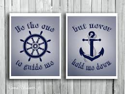 Anchor Print Inspirational Print Quot - quotes about navy blue 44 quotes