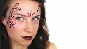 tribal princess face painting ashlea henson youtube