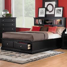 Low Profile King Bed Shop Homelegance Preston Black King Low Profile Bed Under Bed