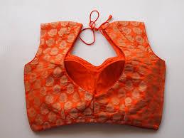 designer blouses orange brocade designer blouse designer blouses