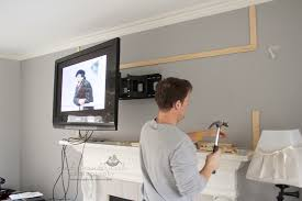tv wall mount swing out how to wall mount a flat panel tv