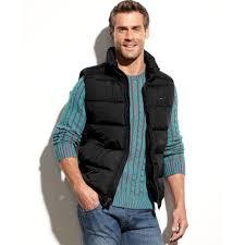 tommy hilfiger men s puffer vest jacket catch the deal