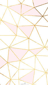 girly pics for wallpaper pink gold white geometric mosaic iphone phone wallpaper background