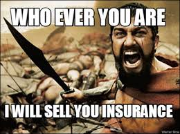 Insurance Meme - meme maker who ever you are i will sell you insurance