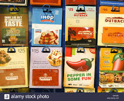 prepaid gift cards prepaid gift cards display usa stock photo royalty free image
