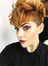 spiked hair with long bangs 100 short hairstyles for women pixie bob undercut hair