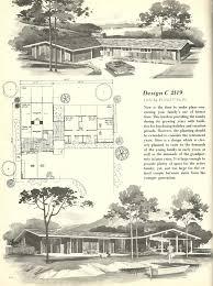Vintage Home Plans Home Design Vintage House Plans Square Feet Mid Century Homes