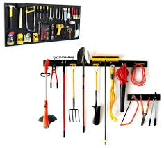 Organizing Garden Tools In Garage - hand u0026 garden tool pegboard combo storage garage shed lawn tools