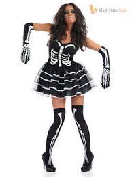 skeleton costume womens skeleton costume tutu gloves womens