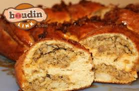 king cake delivery boudin king cake is a real thing would you try it