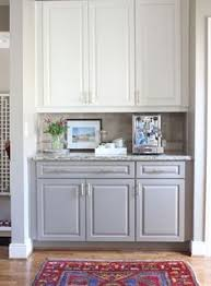 Kitchen Cabinets Grey Painting Oak Cabinets White And Gray Counter Top Dark And Gray
