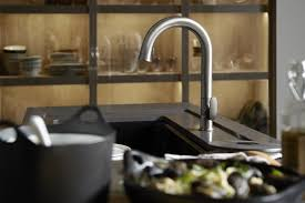 kohler sensate touchless faucet smart glass kitchen kohler ideas