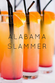 Who Drinks Southern Comfort Alabama Slammer Recipe Alabama Slammer Alabama And Mystery