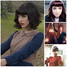 bangs and vintage hairstyles for 2017 new haircuts to try for