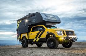 custom lifted nissan armada this custom nissan titan xd will take you camping literally
