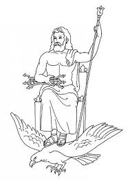 greek mythology coloring pages u2013 barriee