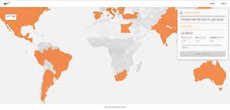 nike map nike sustainability map arch