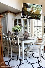 Painted Dining Room Sets 85 Thrift Store Dining Set Makeover Confessions Of A Serial Do It