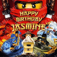 ninjago cake topper lego ninjago edible cake topper personalised printed edible image