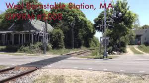 cape cod central railroad shoreline excursion train being flaged