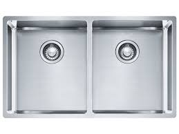 franke bow double inset undermount flushmount sink kitchens
