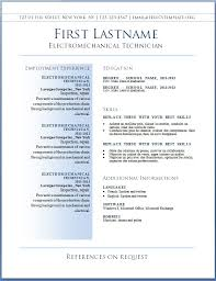 Free Resume Templates Downloads For Microsoft Word Free Resume Template For Word Resume Template With Photo