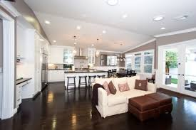 open living room kitchen designs kitchen ios plan peninsula lenexa plans cabinets store outdoor