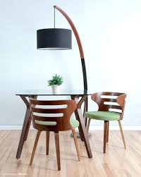 mid century modern round dining table expandable dining table mid