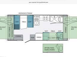 expanda outback 1 17 6ft family van sleeps 6 shower toilet