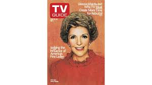 Nancy Reagan by 4 Times Nancy Reagan Appeared On Tv Guide Magazine Covers Photos