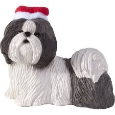 sandicast shih tzu tree ornament walmart