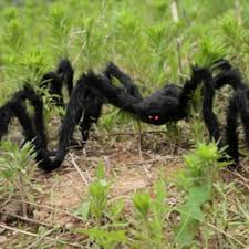 online shop 3 size spider halloween decoration haunted house prop