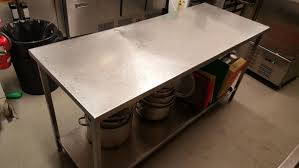 Gorgeous Commercial Kitchen Stainless Steel Tables - Commercial kitchen stainless steel tables