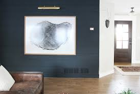 a dark shiplap accent wall for under 75 chris loves julia